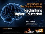 Rethinking Higher Ed