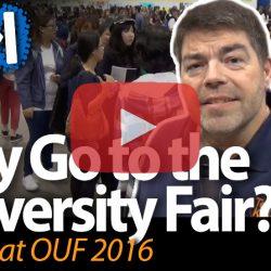 Why Go to the University Fair?