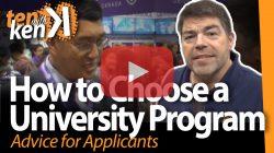 How to Choose a University Program