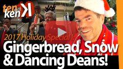 Gingerbread, Snow & Dancing Deans