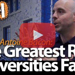 Benoit-Antoine Bacon, Queen's University, on The Greatest Risk that Universities Face