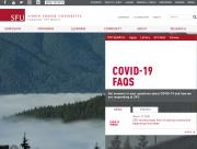 SFU home page - March 14